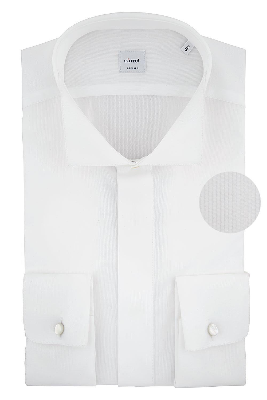Camicia Càrrel bianca cerimonia con gemelli