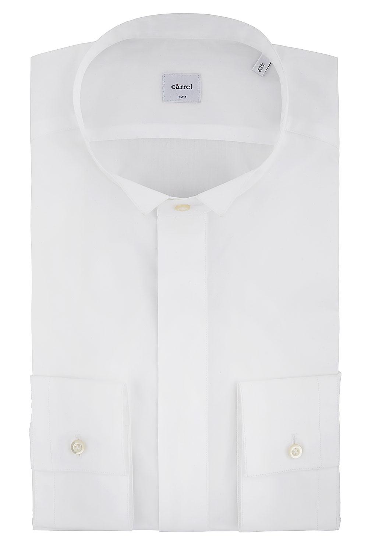 Camicia Càrrel bianca collo diplomatico